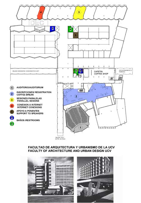 Mapa ciudad universitaria for Facultad de arquitectura direccion